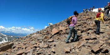 Hiking Etiquette Quandary Peak Trail Colorado