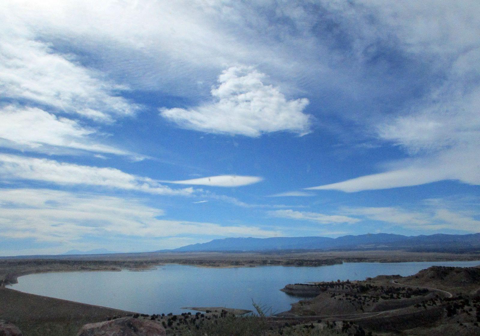 Overlooking Lake Pueblo State Park
