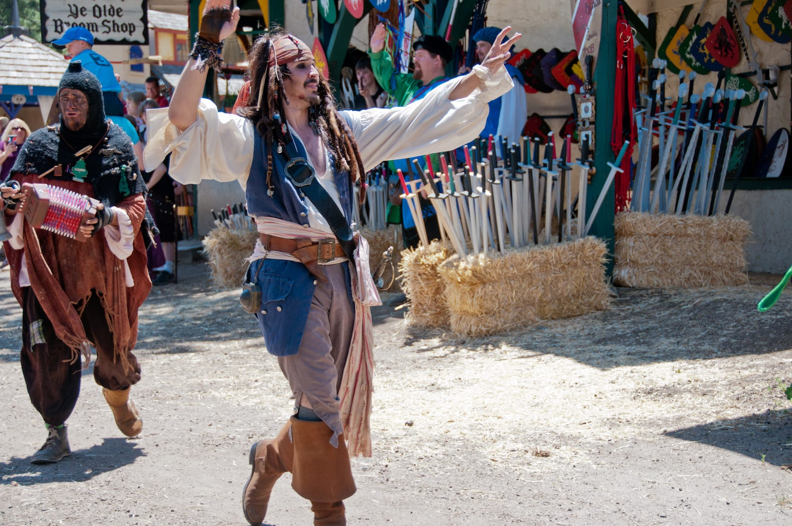 Colorado Renaissance Festival Captain Jack Sparrow Pirate
