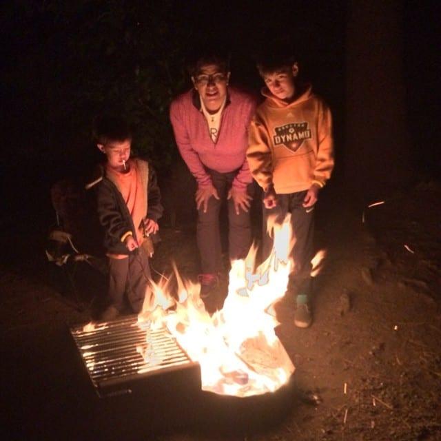Ouray KOA Campground Fire