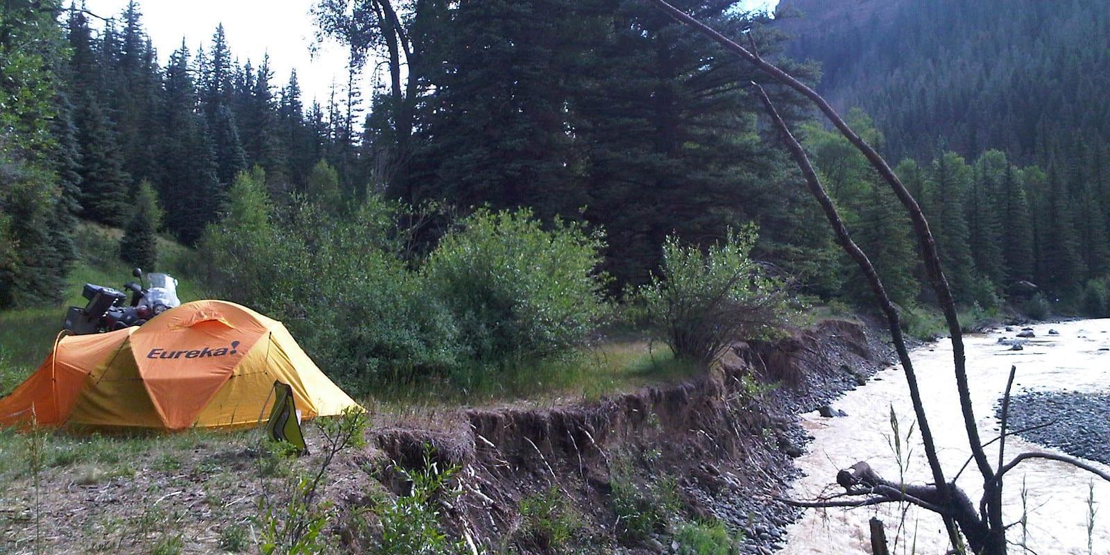 Dispersed Camping San Juan National Forest Pagosa Springs