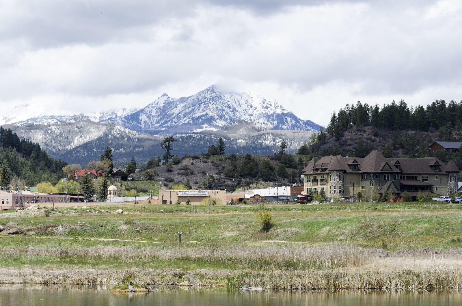 Pagosa Springs Colorado Town