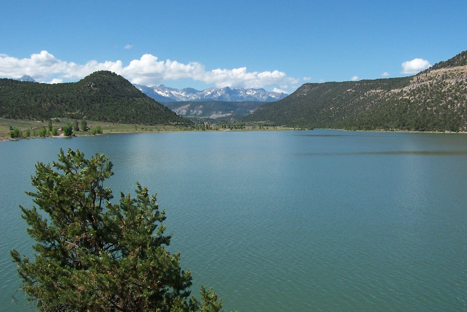 Ridgway Reservoir Colorado Summer