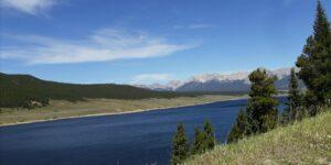 Overlooking Taylor Park Reservoir Almont CO