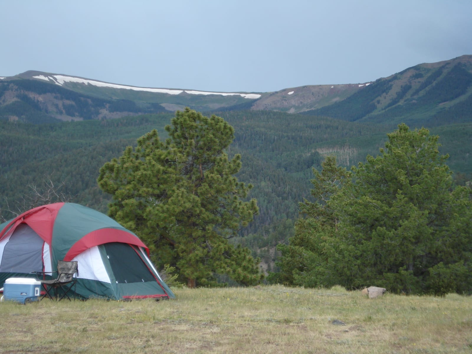 Tent Camping Rio Grande National Forest Colorado