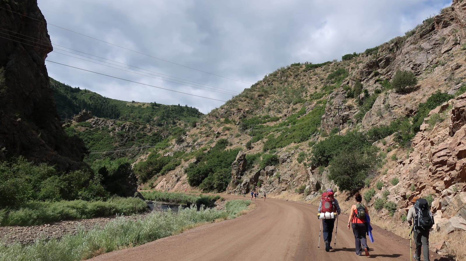 The Colorado Trail Hikers
