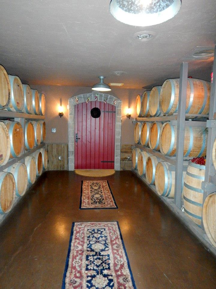 wine cellar at graystone winery