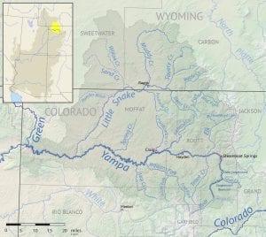 Yampa River Basin Map