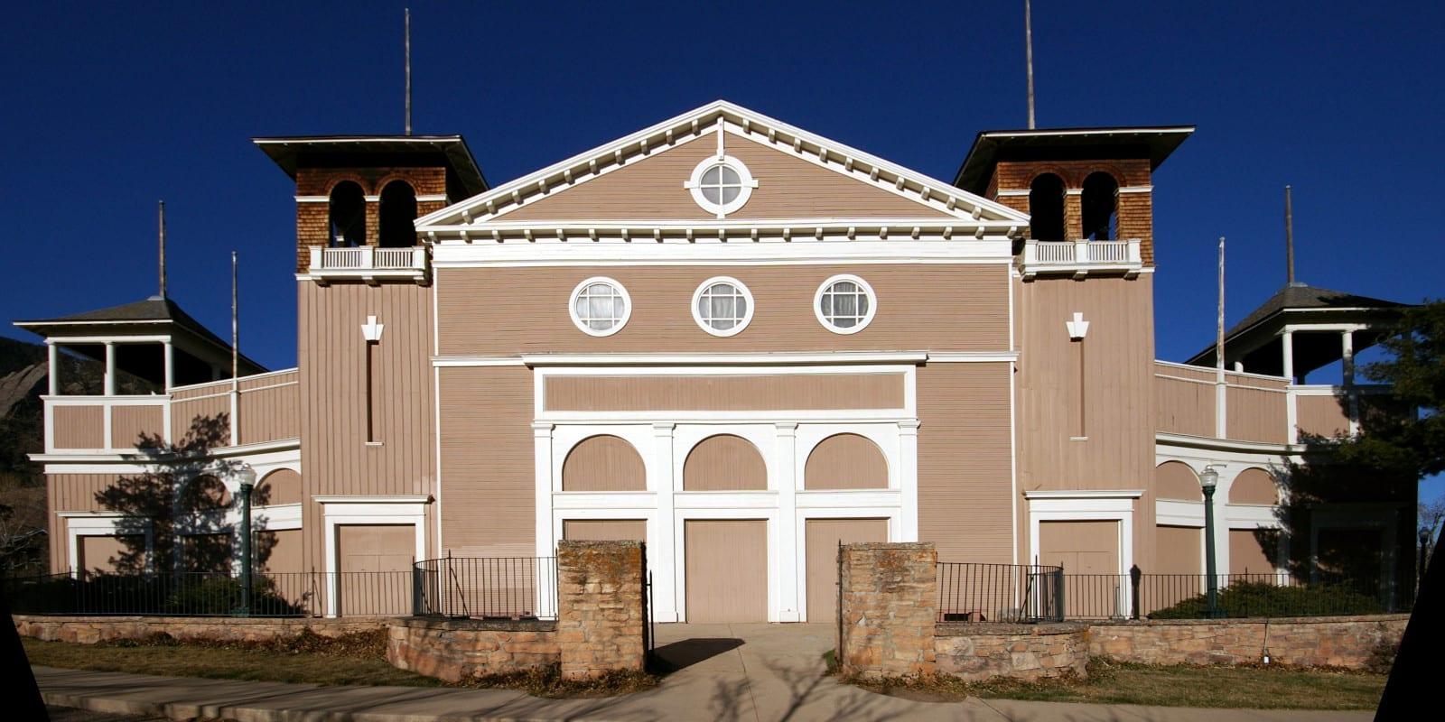 Chautauqua Auditorium in Boulder, CO