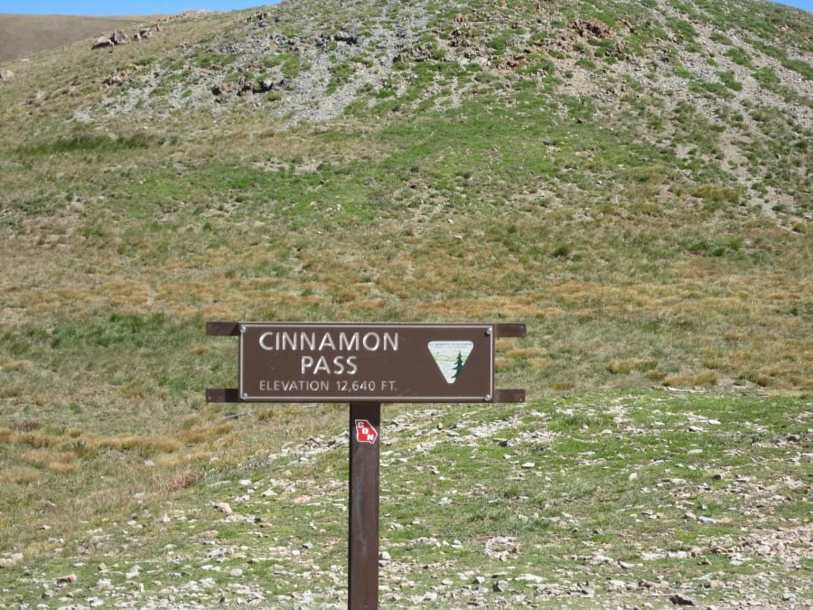 Cinnamon Pass, CO