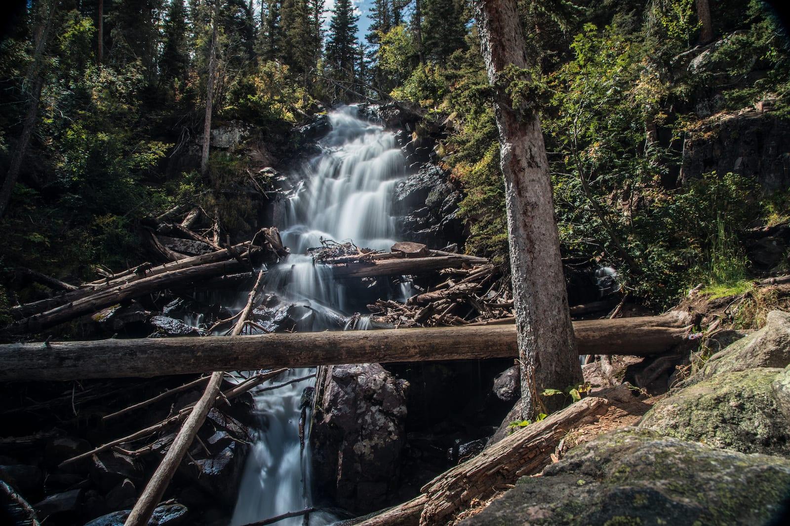 Fern Falls in Estes Park
