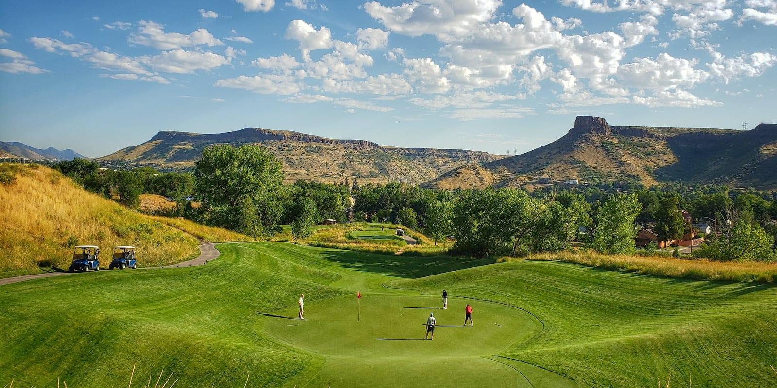 Fossil Trace Golf Club, CO