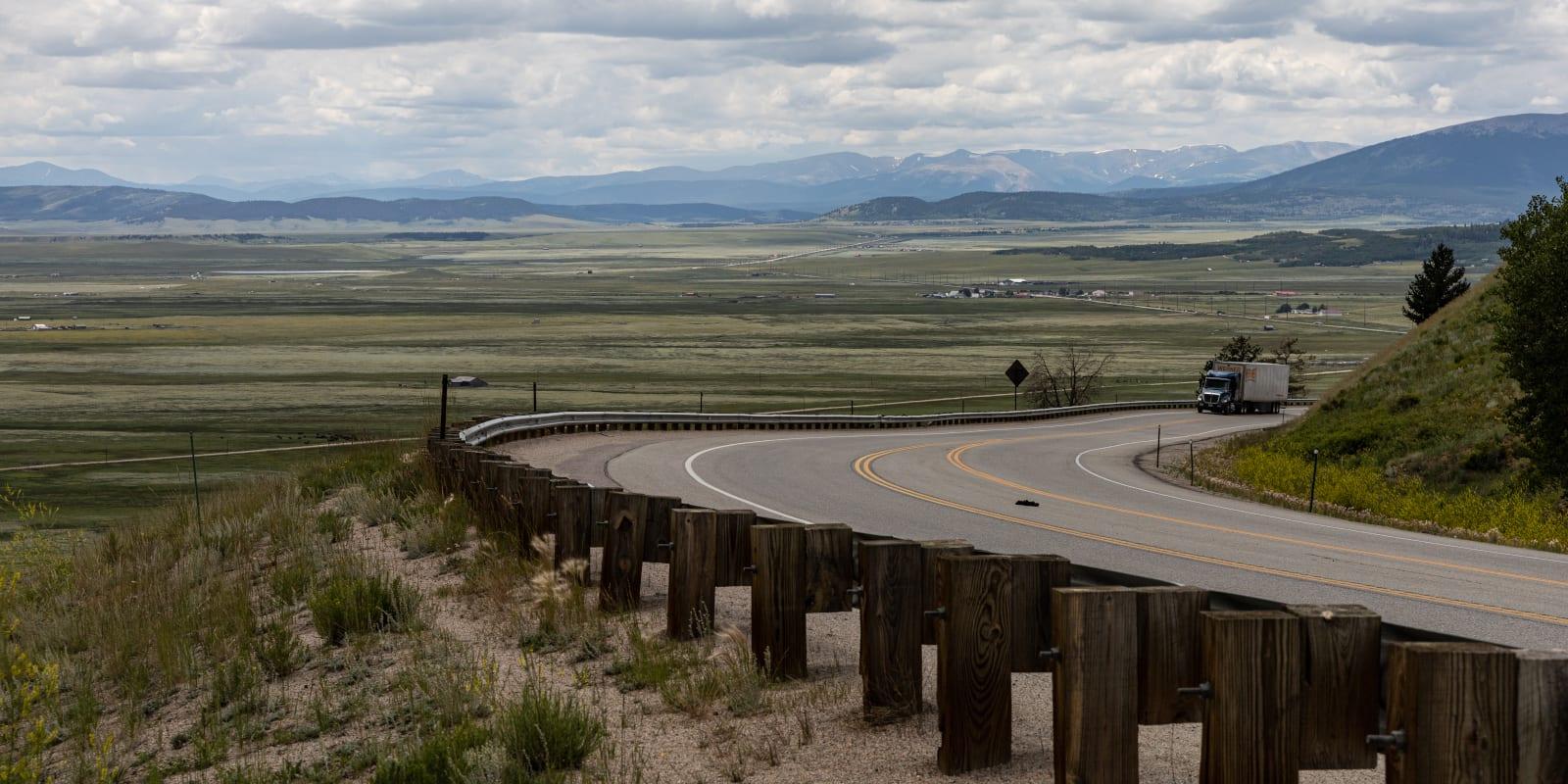 Kenosha Pass, Colorado
