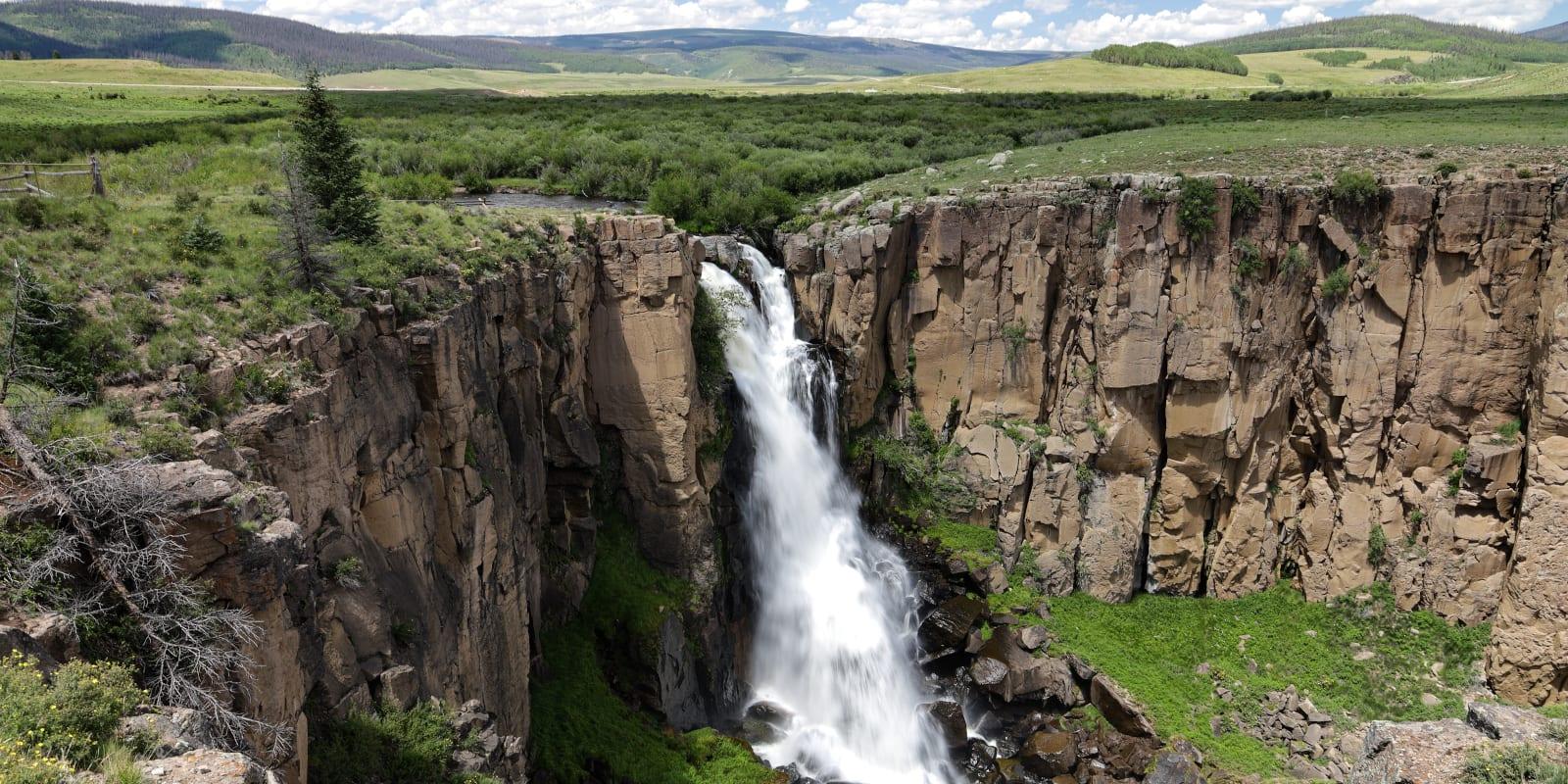 North Clear Creek Falls, CO