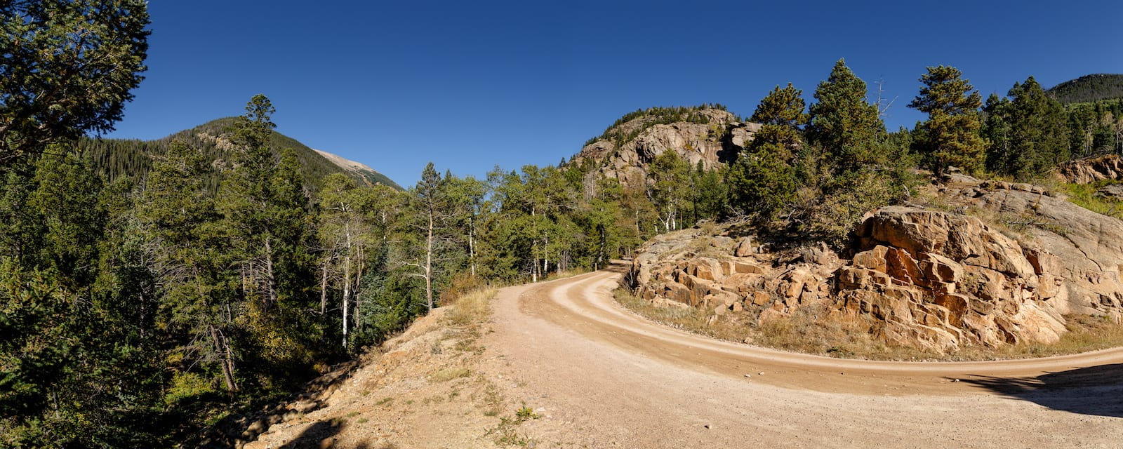 Old Fall River Road, CO