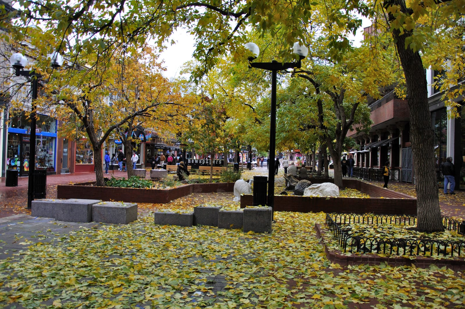 Pearl Street Mall in Boulder, CO