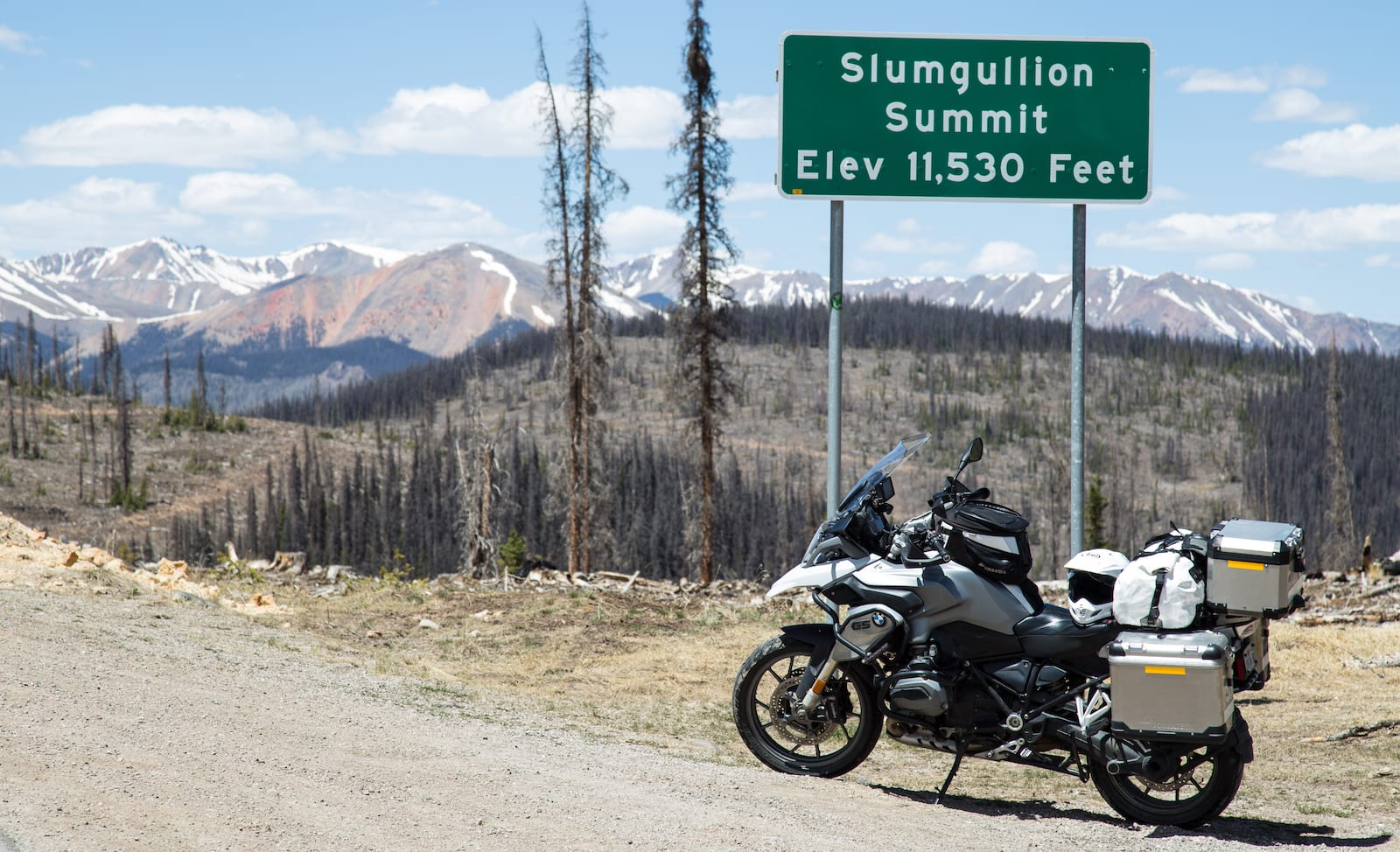 Slumgullion Pass, CO