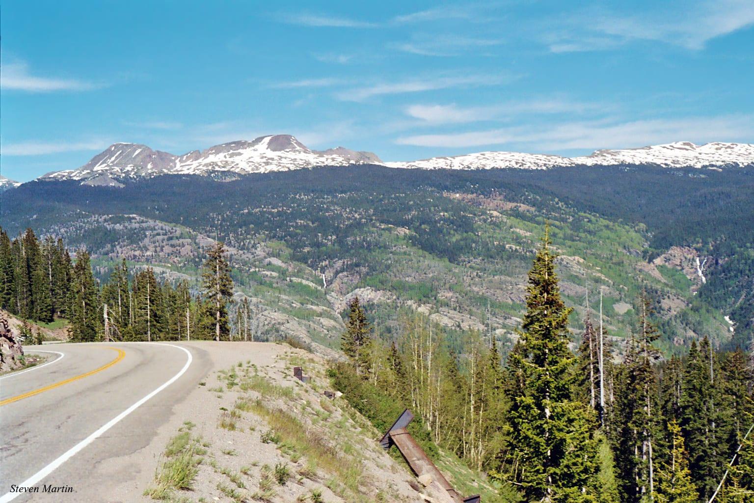 Snowdon Peak from Coal Bank Pass, Colorado