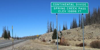 Springs Creek Pass in Lake City, CO