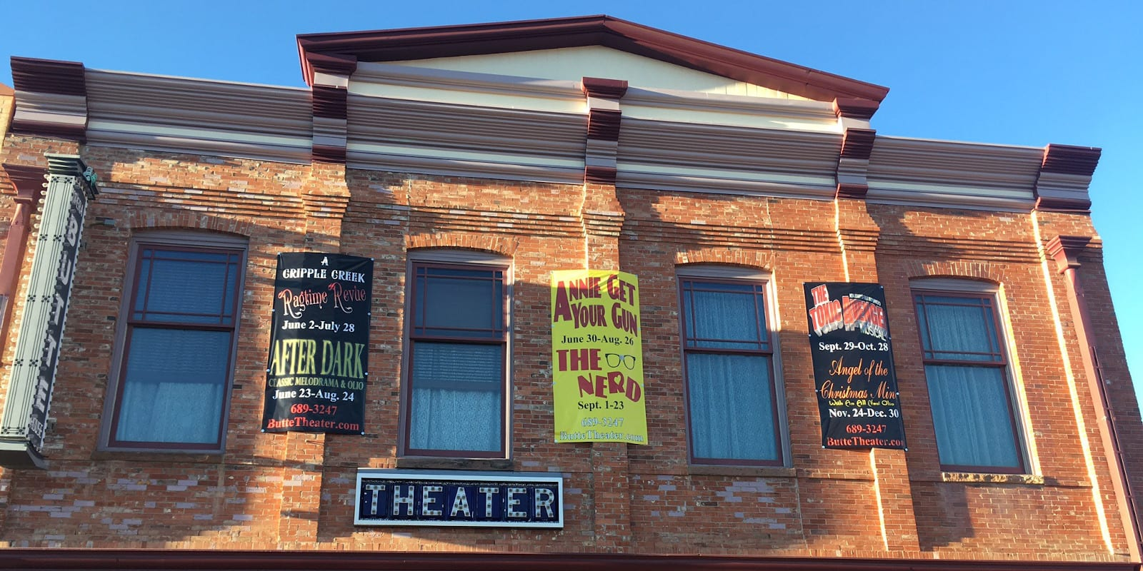 The Butte Theatre in Cripple Creek, CO