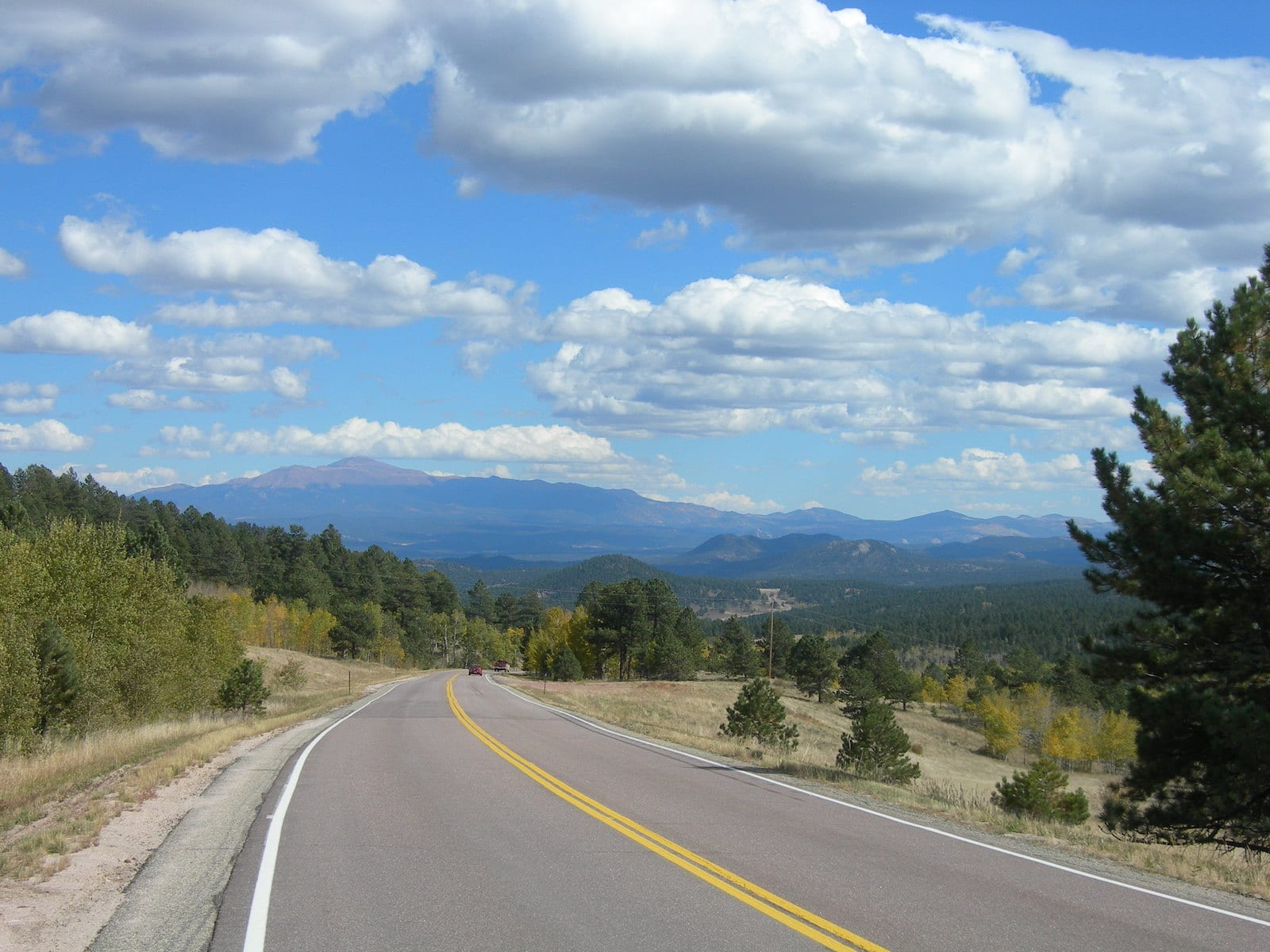 The Rocky Mountains from Wilkerson Pass, CO