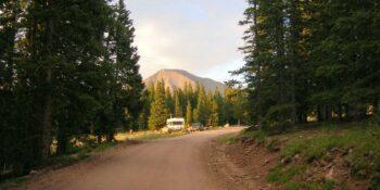 The summit of Cordova Pass, CO