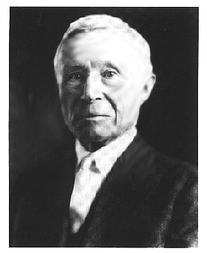 Adolph Coors Headshot Photograph