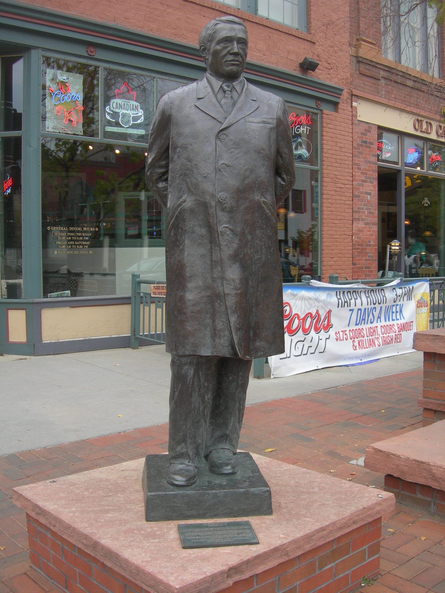 Adolph Coors Sculpture Downtown Golden CO