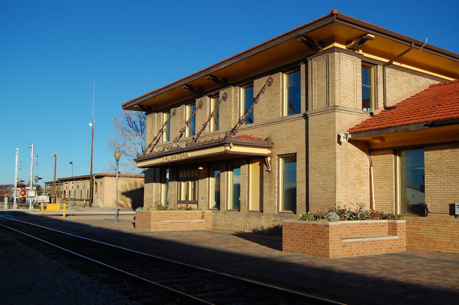 Alamosa CO Train Station