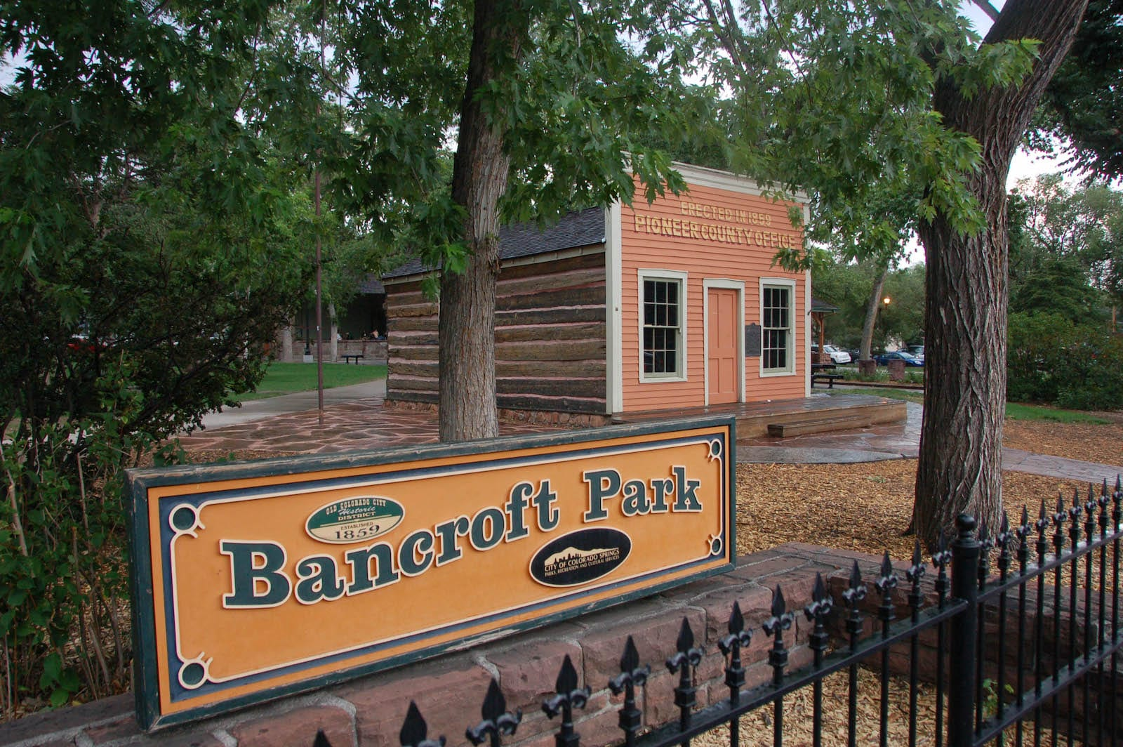 Bancroft Park Old Colorado City