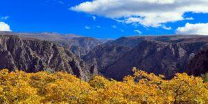 Black Canyon of the Gunnison National Park Autumn