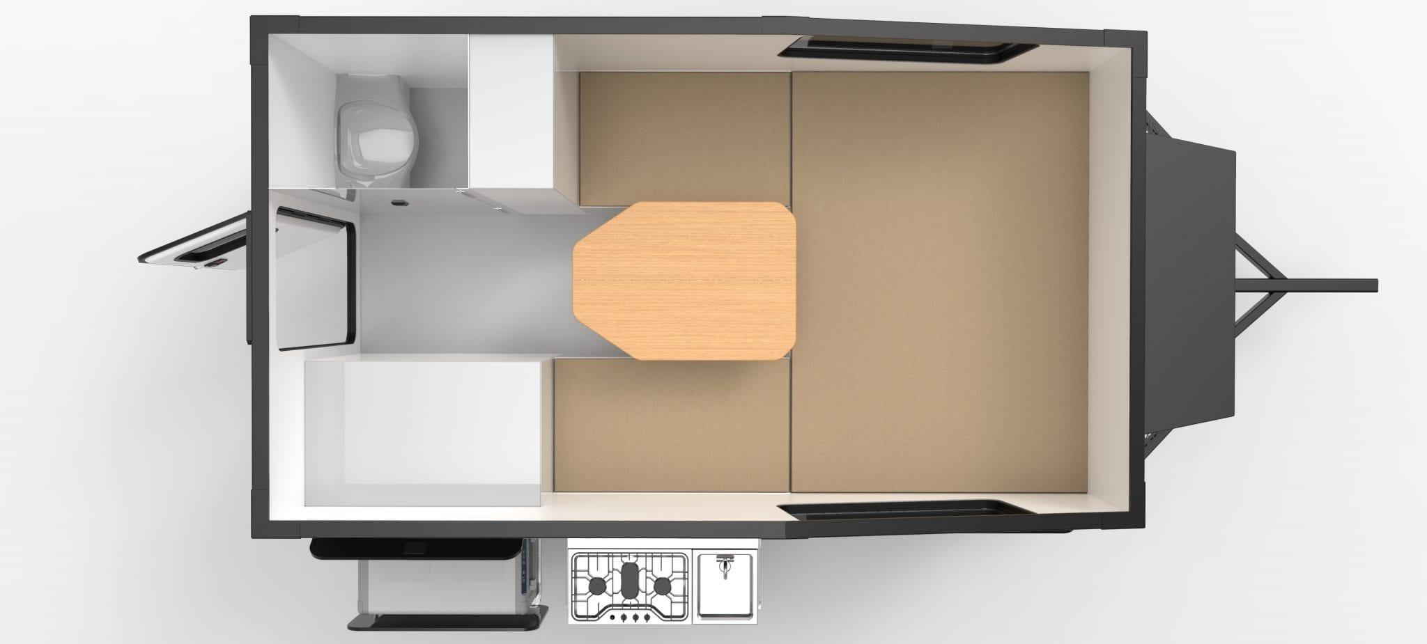Boreas XT-12 Floorplan