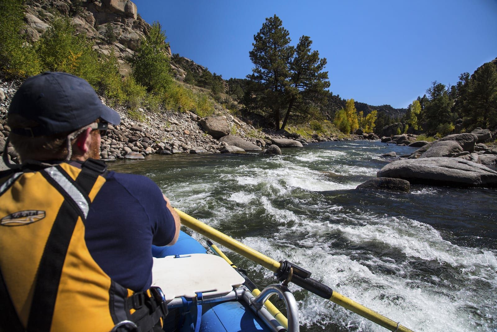 Arkansas River Whitewater Rafting Guide Browns Canyon National Monument