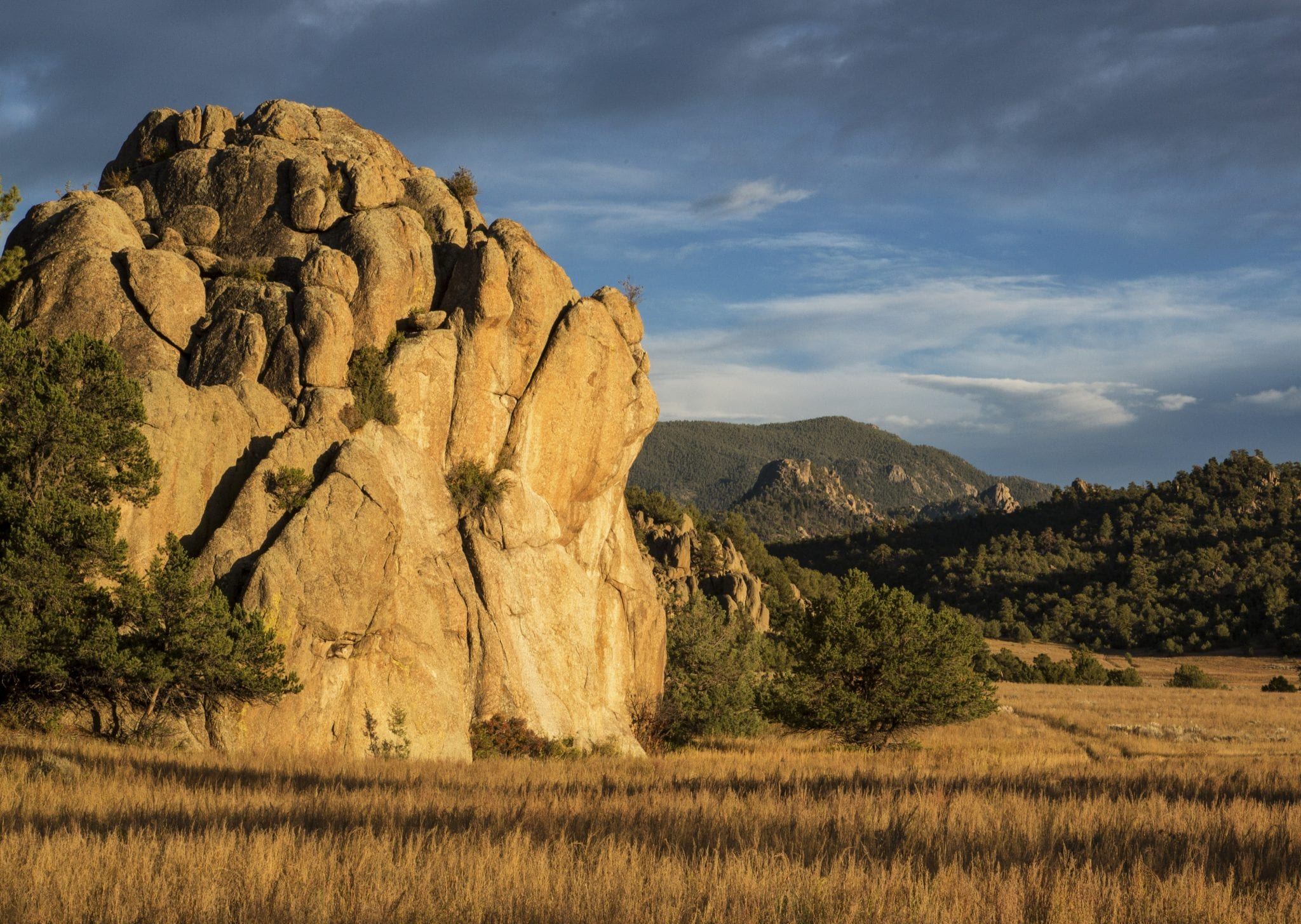 Browns Canyon National Monument Colorado Large Boulders