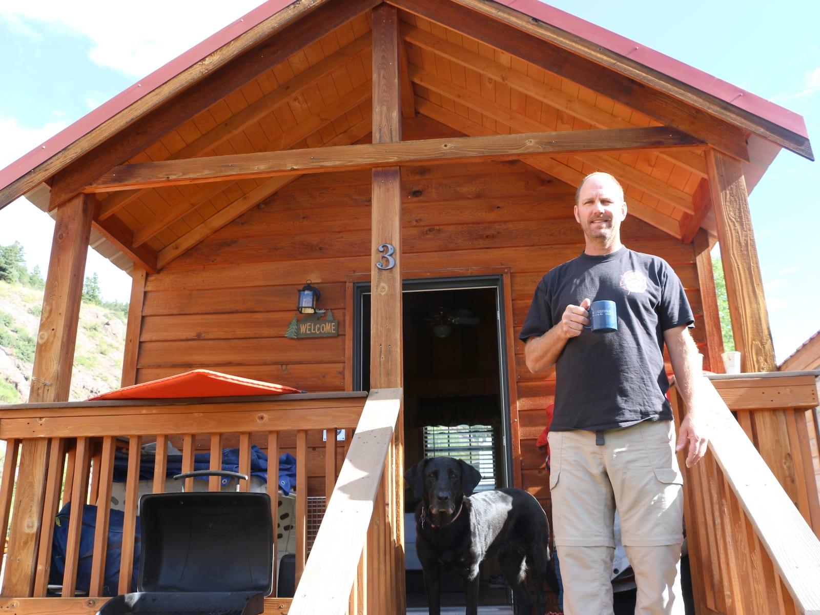 Camper Cabin Rental Lake City, CO