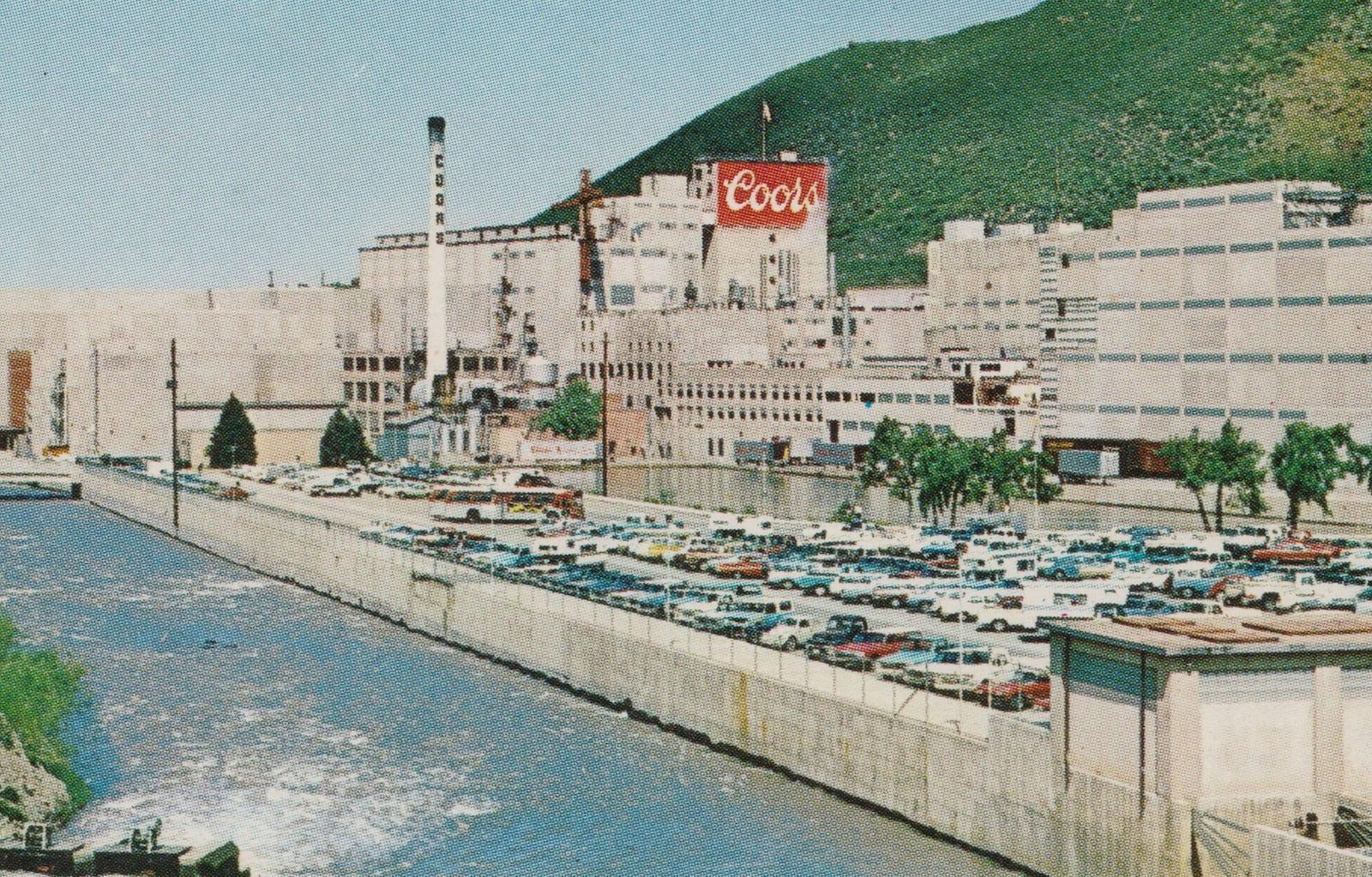 Coors Brewing Company Golden Colorado Vintage Postcard