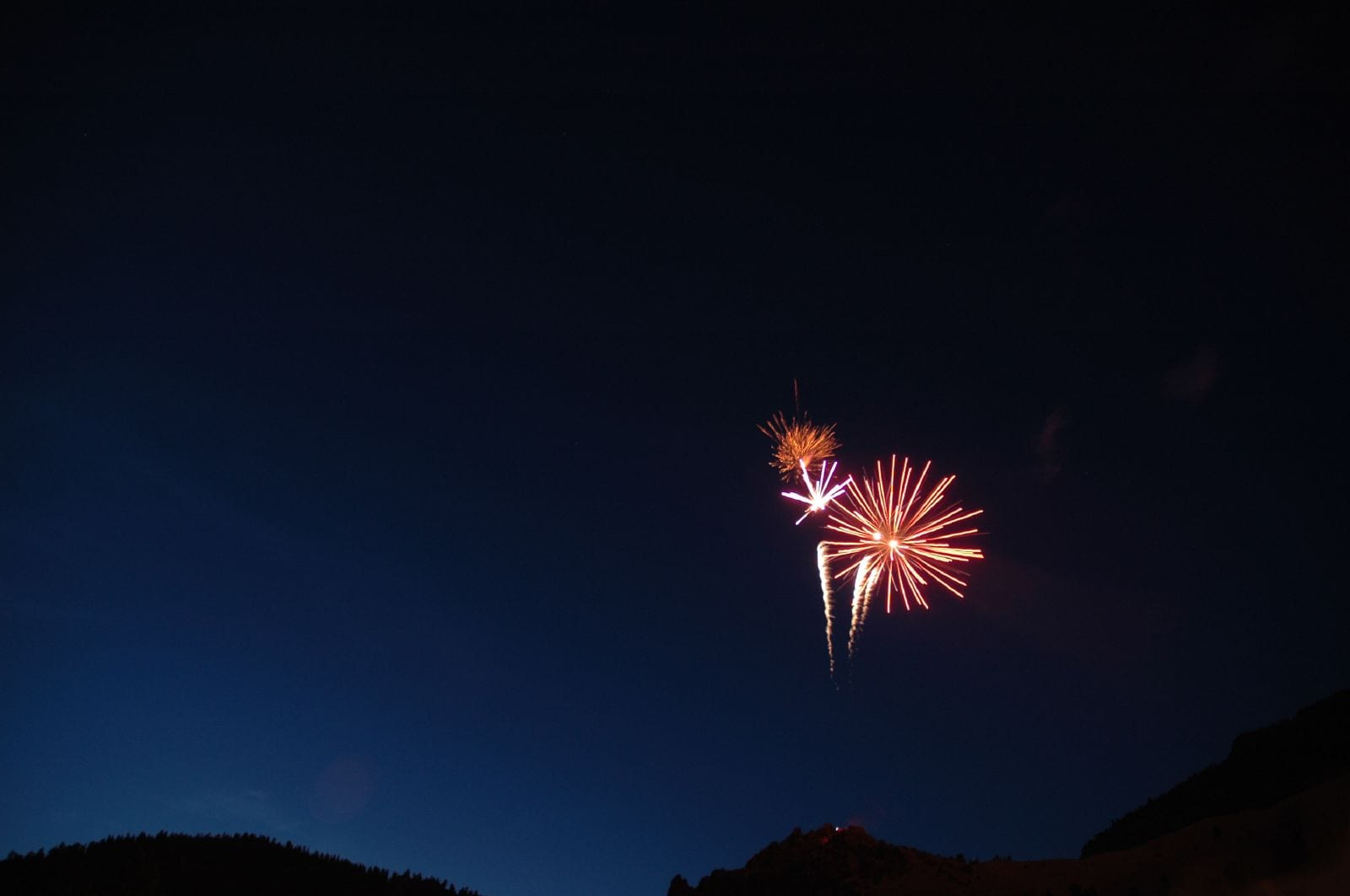 Creede CO Fourth of July Fireworks