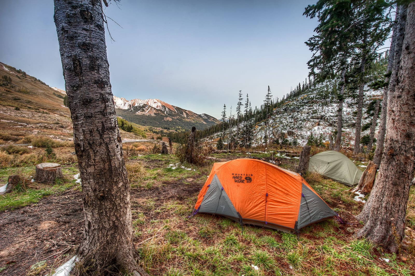 Dispersed Tent Camping Crested Butte by Gothic Mountain