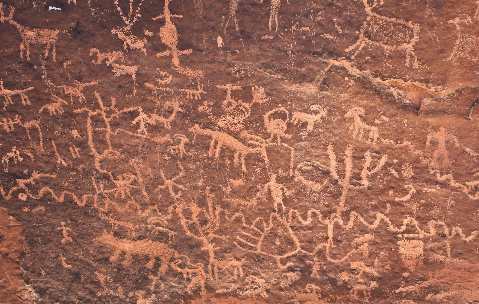 Dominguez-Escalante NCA Petroglyph
