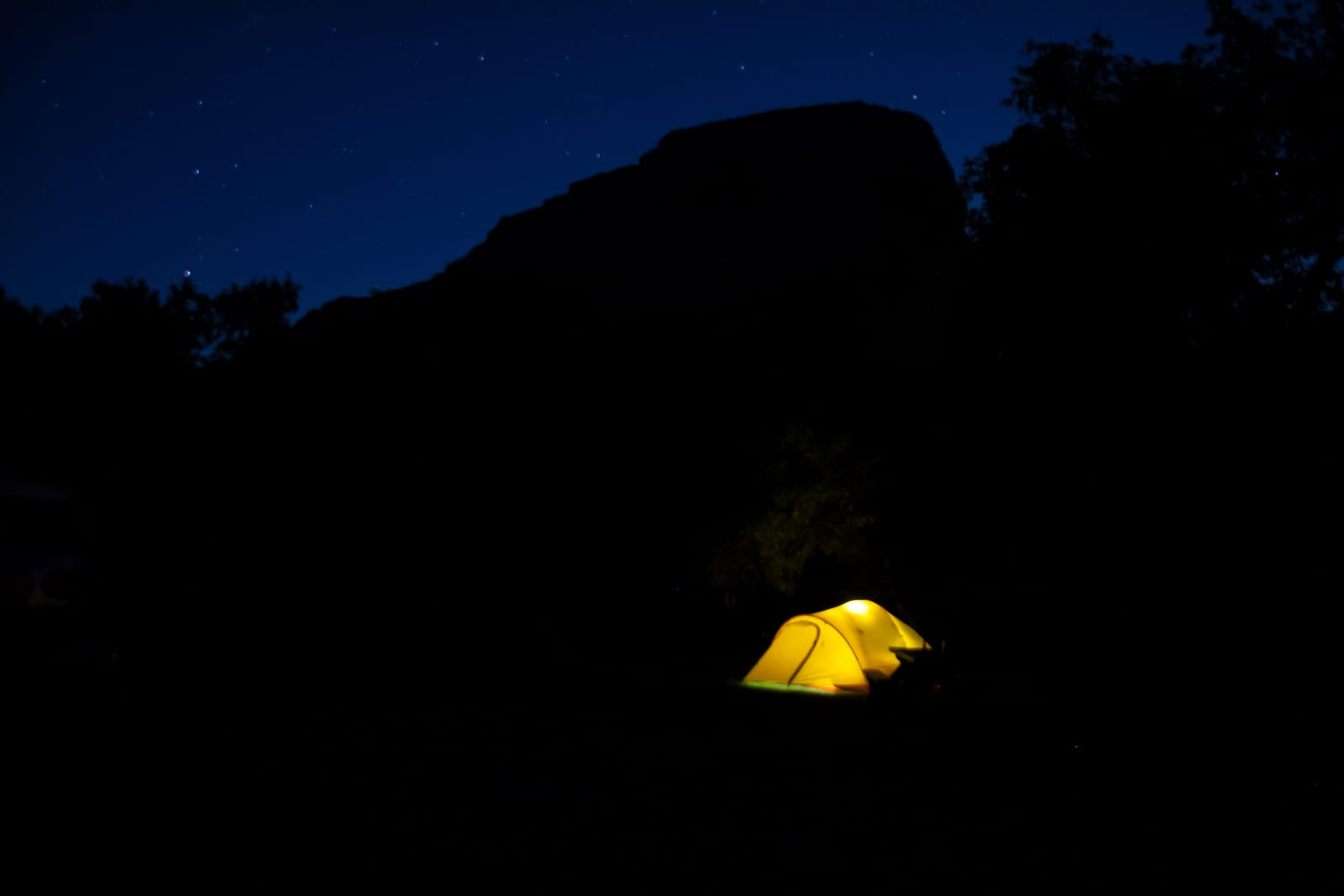 Dinosaur National Monument Echo Park Campground Tent