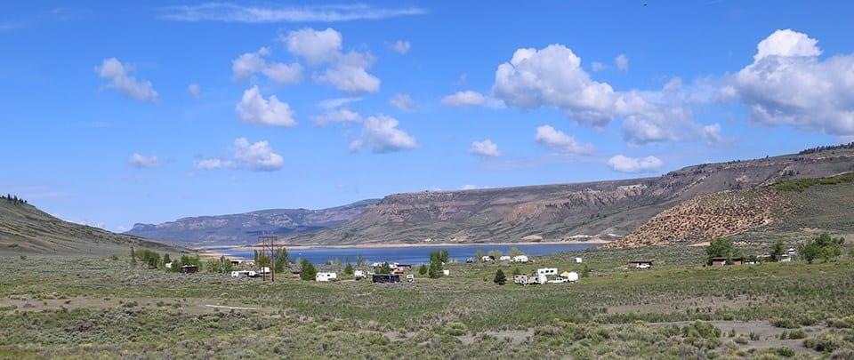 Elk Creek Campground Blue Mesa Reservoir Gunnison CO