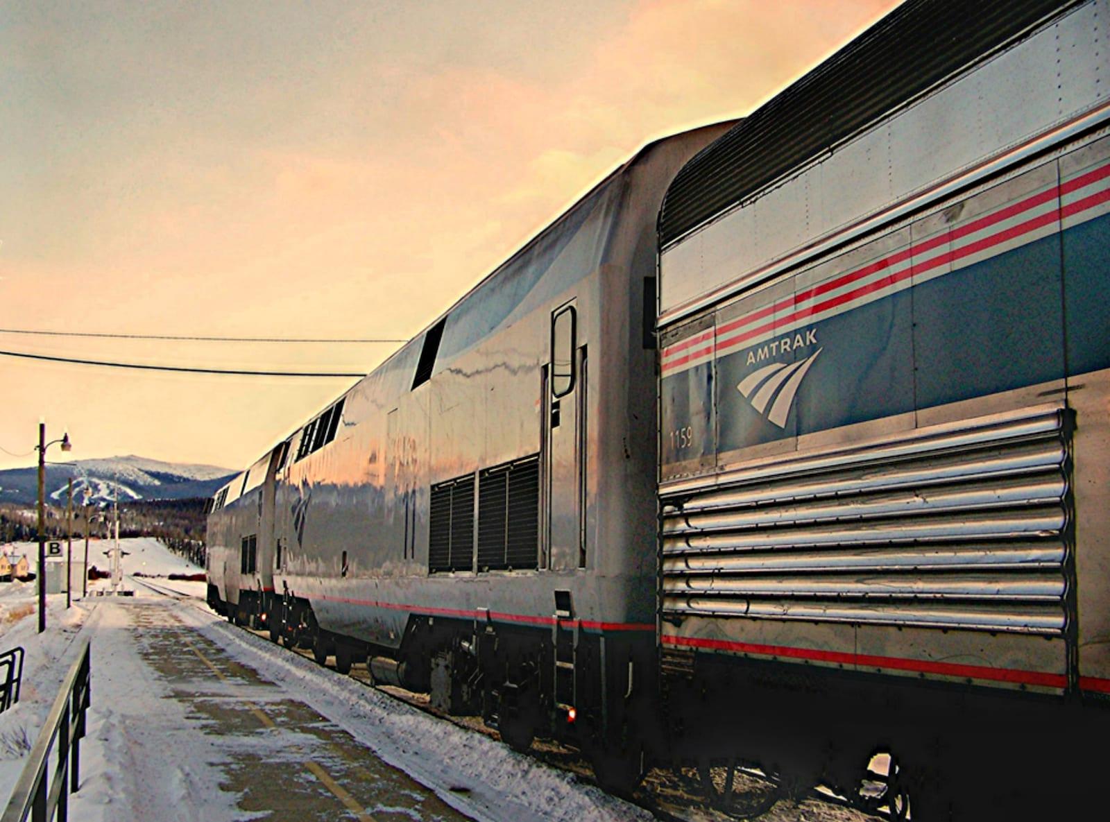 Fraser CO California Zephyr Amtrak Train