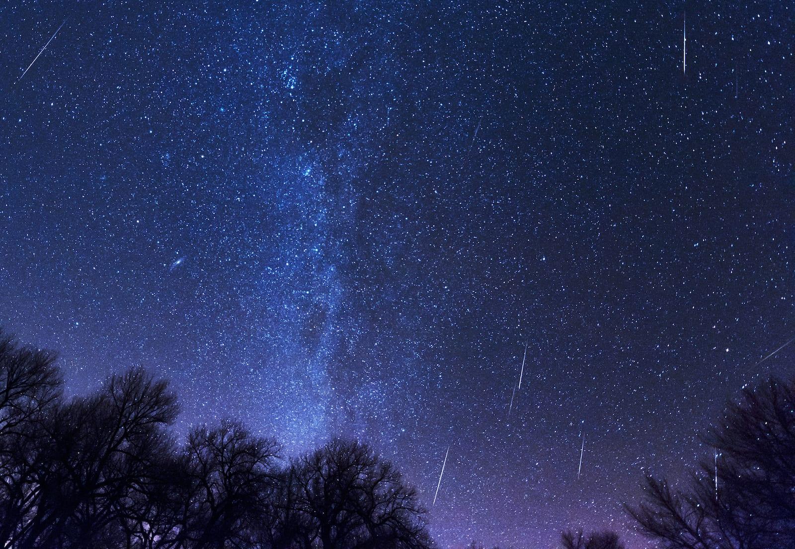 Geminid Meteor Shower Limon Colorado