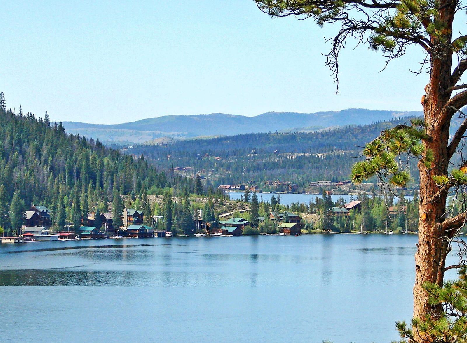 Grand Lake and Shadow Mountain Lake Colorado