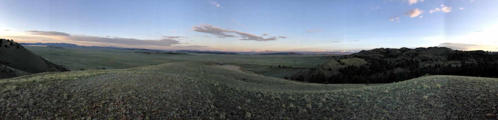 Hartsel Colorado Panorama Spinney Mountain Reservoir