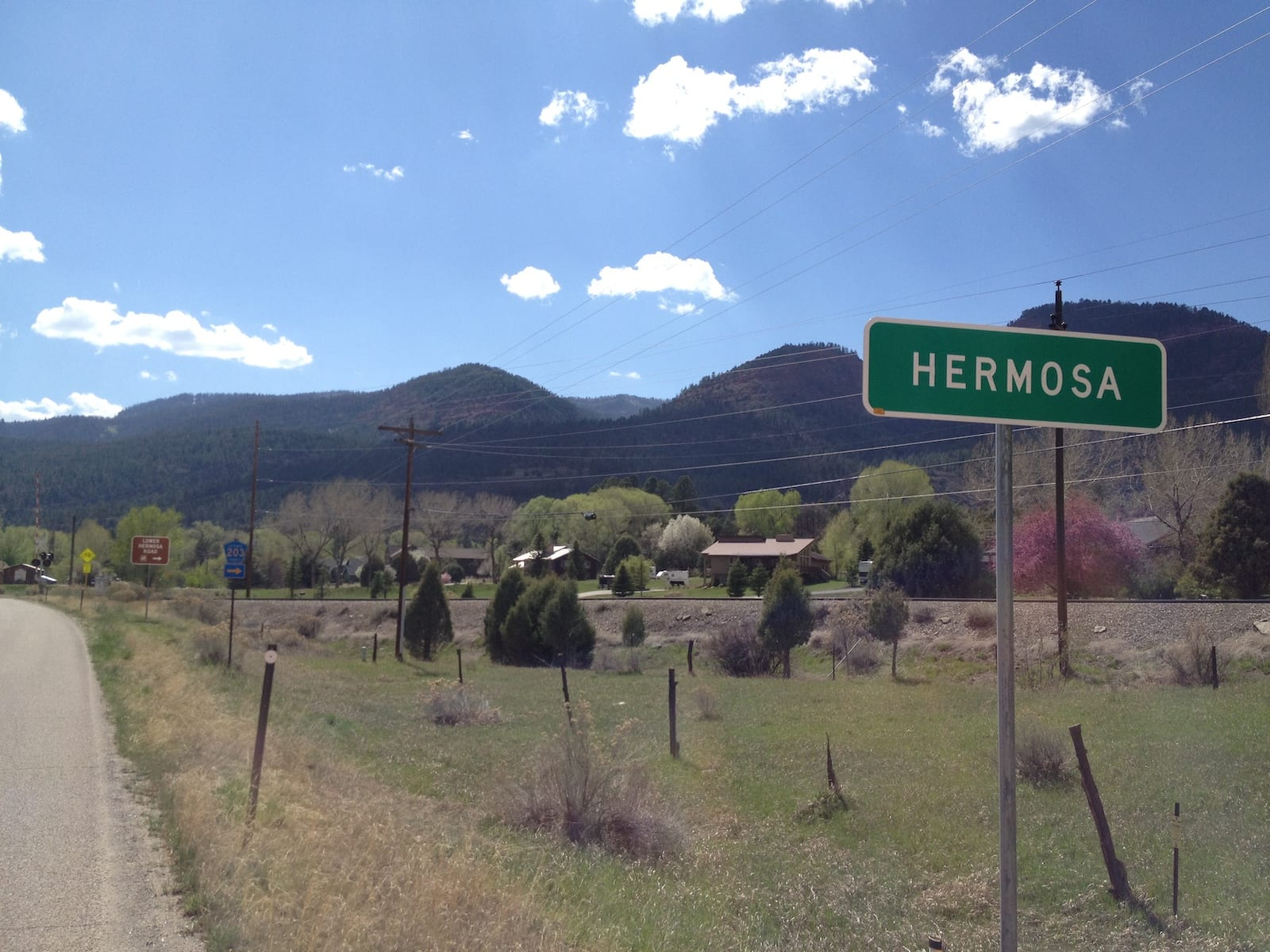 Hermosa CO Sign