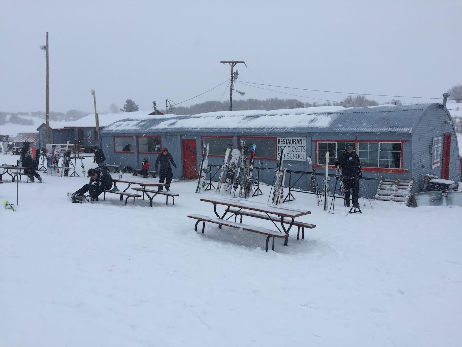 Hesperus Ski Area Main Lodge