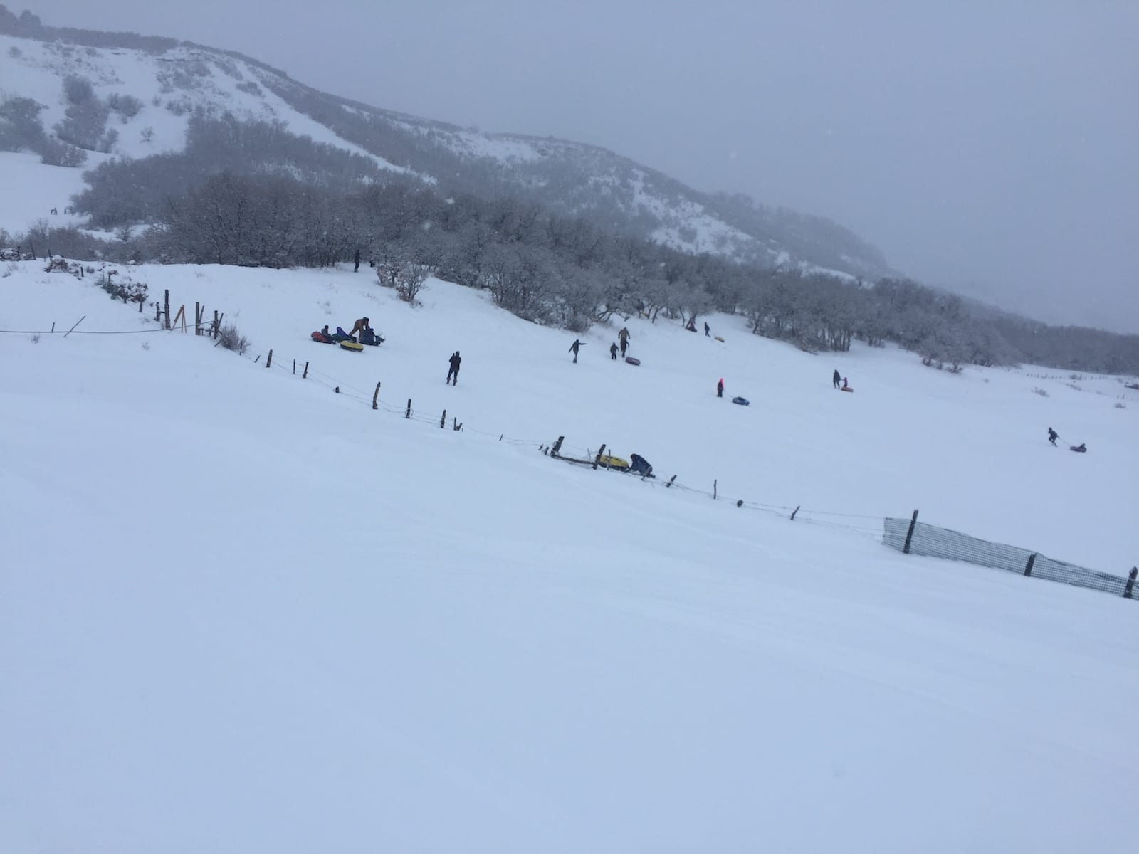 Hesperus Ski Area Tubing Hill Aerial