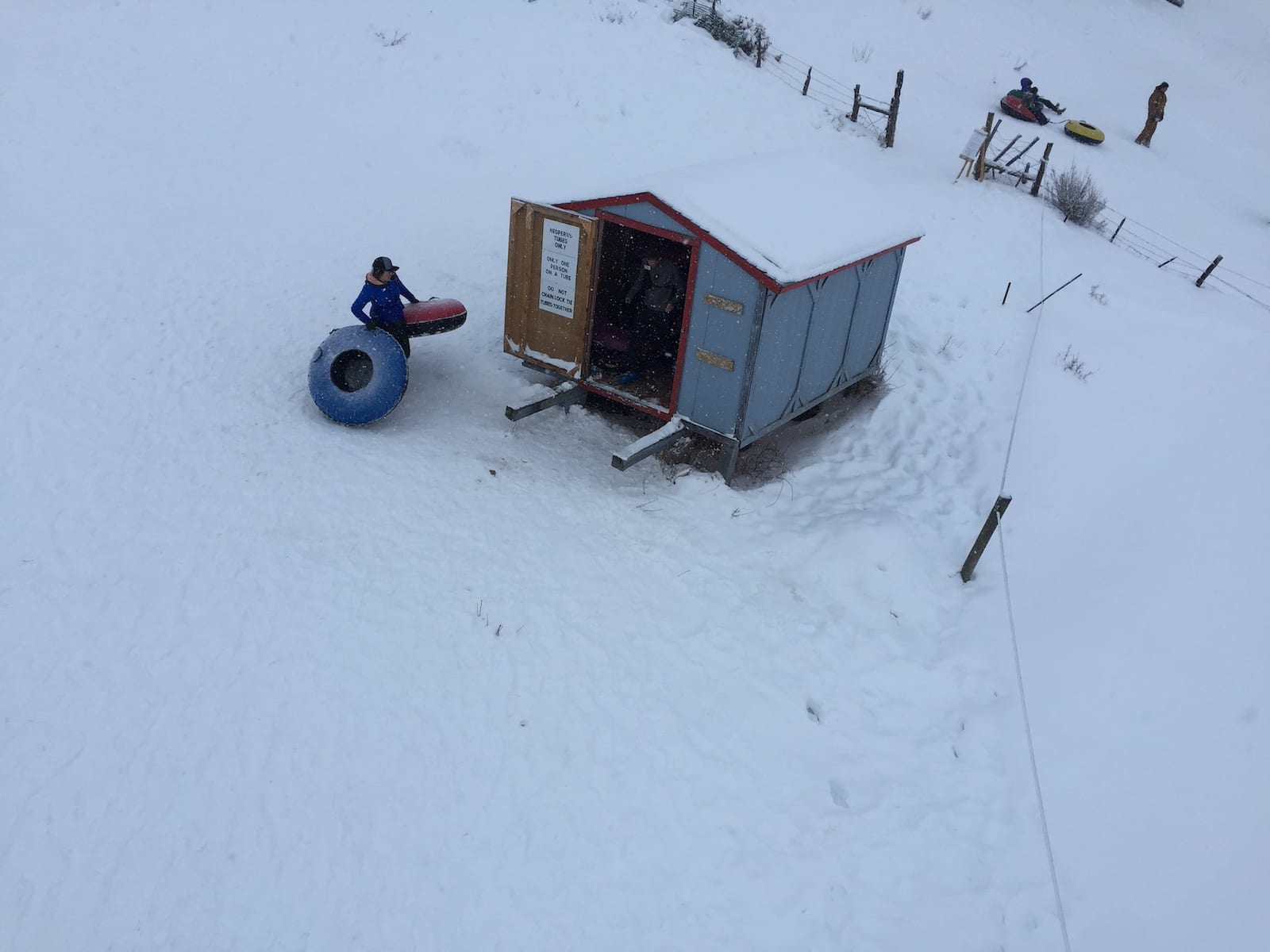 Hesperus Ski Area Tube Shack