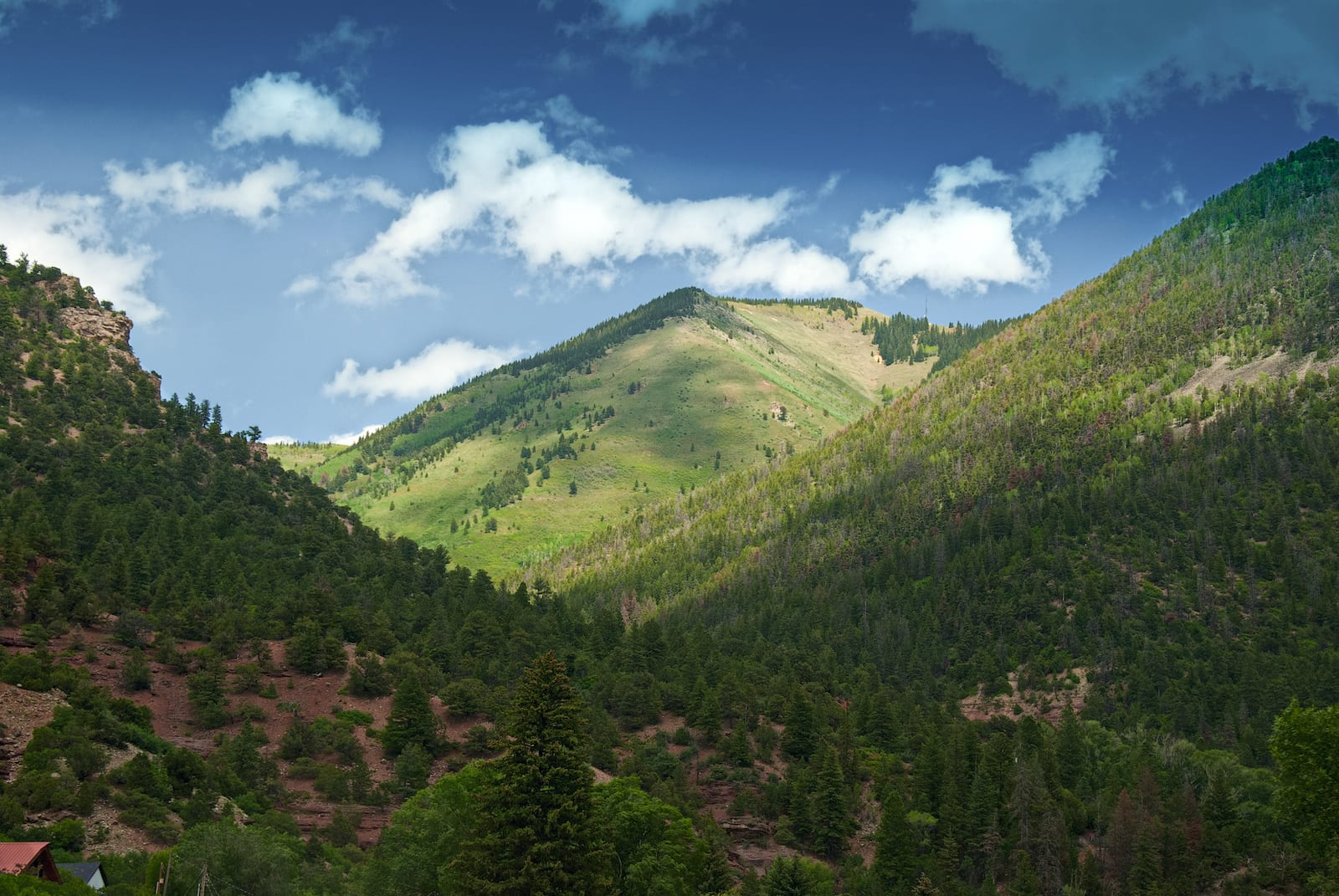 CO-62 Mountains between Placerville and Ridgway